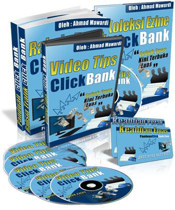 Video dan ebook panduan Click Bank