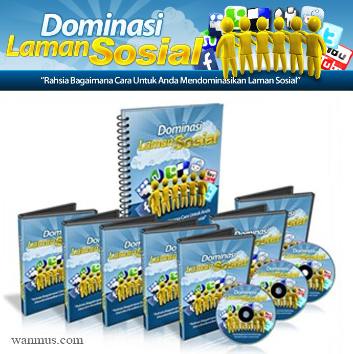 dominasi laman sosial facebook twitter youtube