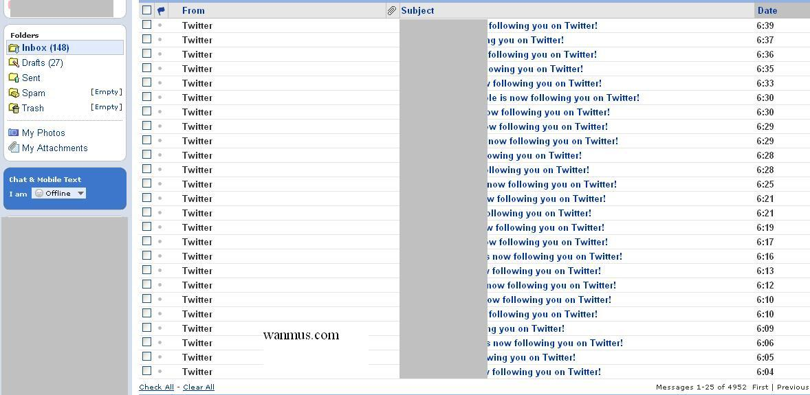twitter follower 1-11-09-update