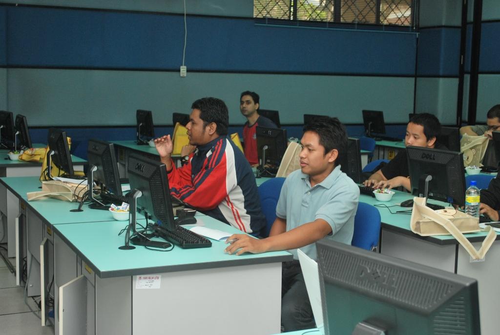 peserta seminar smart blogging