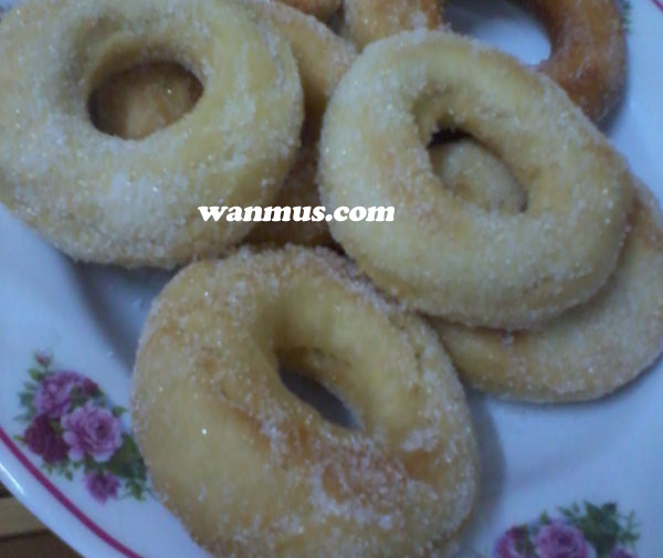 donut lembut sedap